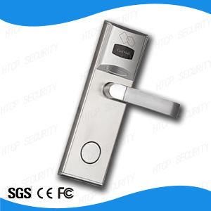 Stainless Steel RFID Mf Card Mortise Lock for Hotel Door (L522-M) pictures & photos