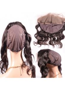 New Arrival 360 Frontal Body Wave Virgin Human Hair 13X2 Lace Frontal with Adjustable Strap