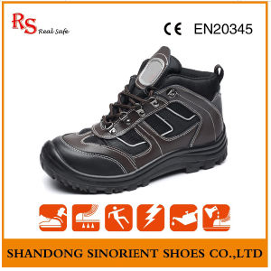 Stylish Safety Shoes with Good Quality Genuine Leather RS893 pictures & photos
