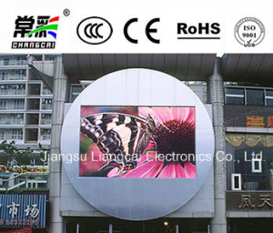 Full Color P4 Outdoor Advertising LED Display Video Board