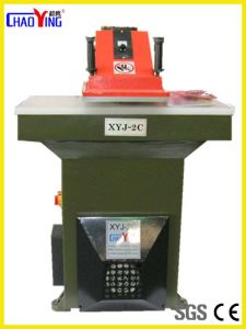 Hydraulic Swing Arm Cutting Press Xyj-2c pictures & photos