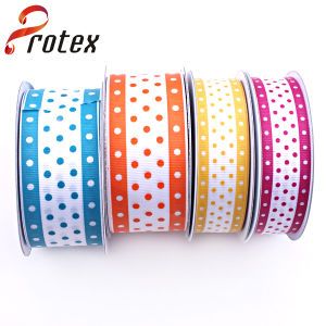 Dots Printing in Colourful Ribbon pictures & photos
