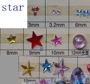 Acrylic Star Bead