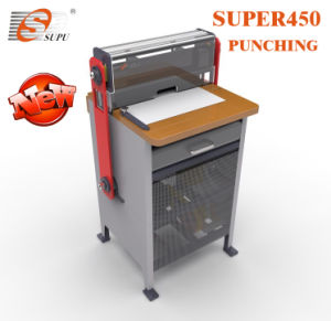 Heavy Duty Paper Punching Machine with Interchangeable Dies with Electric Wire Closing pictures & photos