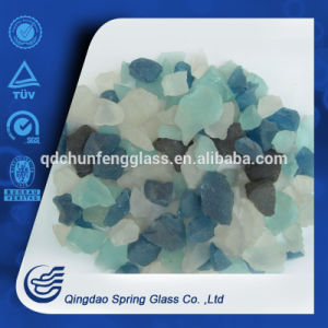 Not Clear Colored Glass Stones pictures & photos