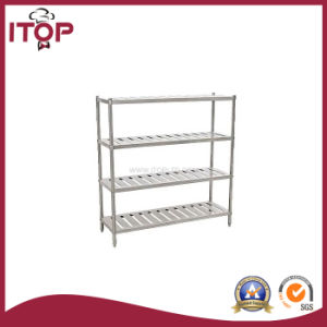 Stainless Steel 4 Tiers Storage Rack (SR-R01) pictures & photos