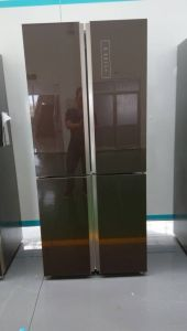Cross Door Side by Side Refrigerator