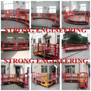 Single Person Right Angle Round Model Suspended Platform Zlp pictures & photos