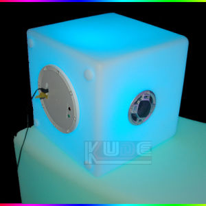 RGB Color Changing Waterproof Bluetooth Speaker LED Cube pictures & photos