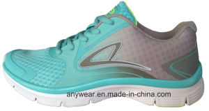 Ladies Women Gym Sports Running Shoes (515-9800) pictures & photos
