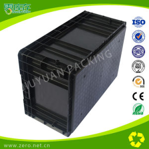 Plastic Turnover Boxes, Warehouse Storage and Moving Boxes pictures & photos