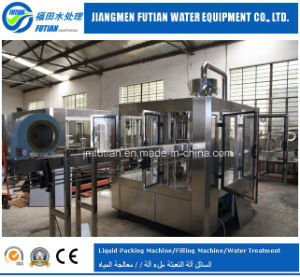 Vapour-Water Carbonated Drinks Filling Sealing Machine