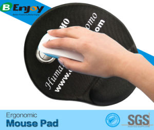 Ergonomic Designed Comfortable Gel Filled Gaming Mouse Pad pictures & photos
