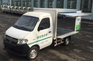 China Electric Mini Truck, Mobile Store, pictures & photos