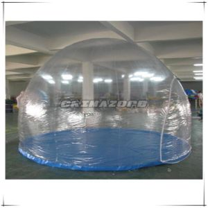 Hot Sale Transparent PVC Inflatable Tent for Exhibition Use