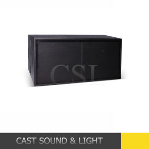 Professional Speaker Ts218 Dual 18 Inch Hi Fi Subwoofer, Bass pictures & photos
