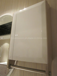 Different Color PVC Bathroom Vanity with Side Cabinet (BLS-17323) pictures & photos