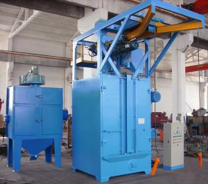 Q376 Single Hook Sand Blasting Cleaning Machine with European Standard pictures & photos