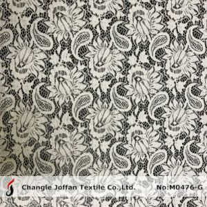 New Textile Jacquard Dress Lace Fabric (M0476-G) pictures & photos