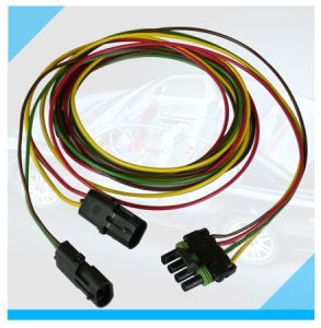 Factory Custom Automotive 4 Pin Connector Wire Harness pictures & photos