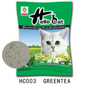 2016 Hot Sale Good Quality Bentonite Charcoal Cat Litter Slica High Quality and Clumping pictures & photos