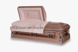 American Style 18ga Steel Casket (1851003) pictures & photos