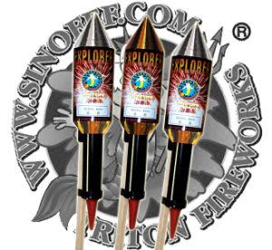 Explorer Rockets Fireworks pictures & photos