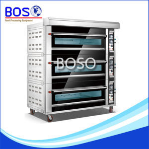 Three-Layer with Six -Tray Baking Bread Gas Oven