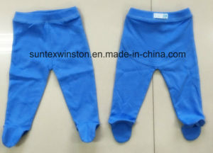 100% Cotton OEM Baby Pants with Leggings pictures & photos