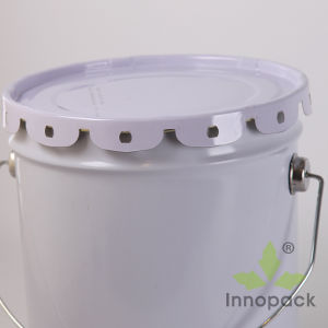5 Gallon Round Paint Metal Tin Bucket pictures & photos