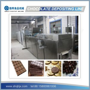 PLC Control&Full Automatic Chocolate Machine Production Line pictures & photos