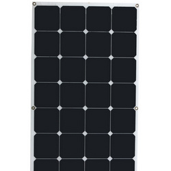 100W 50W 18V 12V High Efficiency Semi Flexible Sunpower Solar Module /Panel pictures & photos