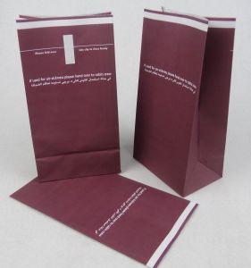 Printed Laminated Kraft Paper Airsickness Bag pictures & photos