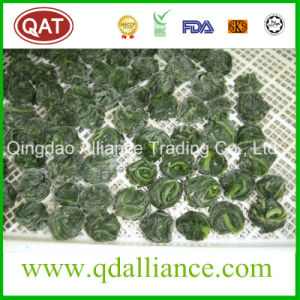 IQF Frozen Whole Leaf Spinach Ball pictures & photos