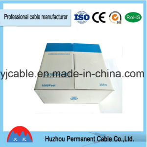 Low Voltage Category 5 Ethernet Cable Cat5e 24AWG 4p 0.50mm Solid Copper Cable 305m pictures & photos
