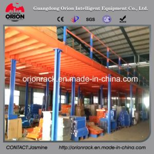 Multi-Layer Warehouse Steel Mezzanine Floor Shelving pictures & photos