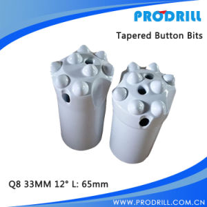 Tapered Tungsten Carbide Button Rock Drill Bit for Rock Drilling pictures & photos