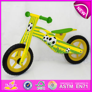 2014 New Wooden Bicycle Toy for Kids, Popular Wooden Balance Bike Toy for Children, Wooden Toy Wooden Bicycle for Baby Factory W16c081 pictures & photos