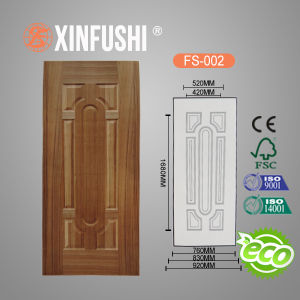 Melamine Faced Molded HDF Door Skin pictures & photos