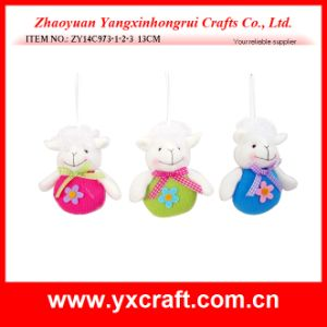 Easter Decoration (ZY14C973-1-2-3 13CM) Funny Easter Craft Easter Signs pictures & photos
