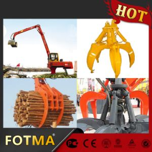 Rotating Stone Grappler Crane, Hydraulic Grapple pictures & photos