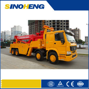 Sinotruk HOWO 8X4 Heavy Recovery Vehicle Paul Trucks pictures & photos