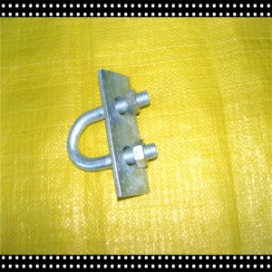 Electric Galvinized Cross Clamp with U Bolt for Pipe pictures & photos