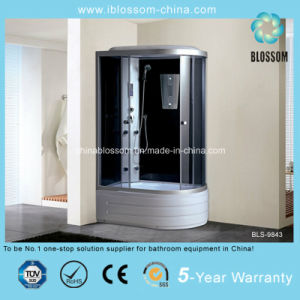 Deep Tray Massage Steam Shower Room (BLS-9843) pictures & photos