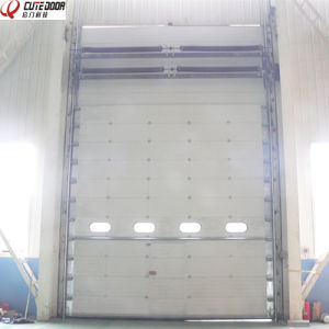 High Speed Overhead Sectional Sliding Doors pictures & photos