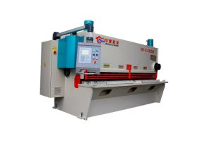 QC11k European Design CNC Control Guillotine Shear, Hydraulic Guillotine Shearing Machine pictures & photos