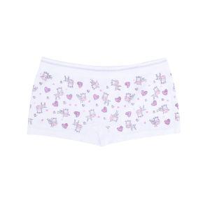 Girl′s Printed Seamless Boy Shorts Panties pictures & photos