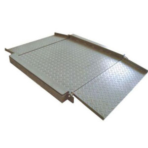 Electronic Weighing Floor Scale with Ramps pictures & photos