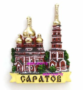 Polyresin Russian Tourist Gifts of Fridge Magnet pictures & photos