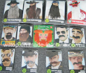 Assorted Plush Party Beard&Moustache (BA003) pictures & photos